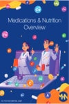 Ebook cover for Medications and Nutrition Overview